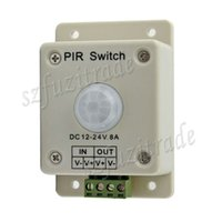 Wholesale Pir Switch V V A W Outdoor Security PIR Infrared Motion Sensor Detector Movement Switch Meter New Arrival
