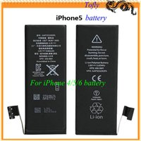 Wholesale 2015 High Quality Original Replacement Repair Parts Battery For Cell Phone iPhone S G C S For iPhone S iPhone G C S iPhone