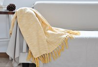 beige throw blanket - 2015 new arrivel winter cover blanket color red grey beige yellow in stock fringed blanket warm fashion