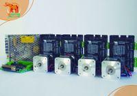 cnc stepper motor driver - 4 Axis CNC router Wantai Nema Stepper Motor g cm Digital Driver VDC A D Reprap Printer Robot Machines