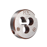 alloy properties - HOT Metric Thread Die Pitch Left Hand M3 Multiple Property kit Alloy Steel Die Wrench Set for metalworking Metal Working DIY too order lt no