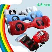 Wholesale Smart Balance Scooter Two Wheel Hoverboard Electric Scooters Unicycle Self Balancing inch Children Bear Skateboard Motor factory price