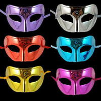 mask for men - 2015 Electroplating Man Mask Holiday Party Mask Party Mask For Halloween