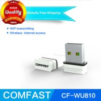 access desktop - Comfast CF WU810N Mini USB WiFi Adapter RTL EUS M wireless wifi access point usb wifi dongle adaptador wifi usb