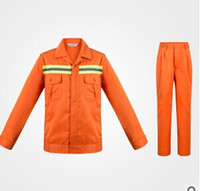 Wholesale Road construction safety signs protective clothing reflective fabric uniforms