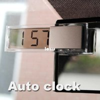 Wholesale Durable Digital LCD Display Car Electronic Clock With Sucker Cool