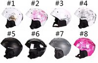 Wholesale 2016 High Quality Skiing Helmet PC EPS Ultralight Ski Helmet Extreme Sports Snowboard Helmet Professional Winter Snowboard Skiing helmet