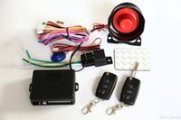 Wholesale Car Security Alarm System Way Car Alarm Protection System with Remote control H15052815