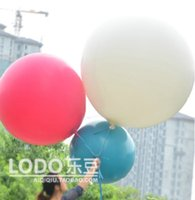 balloons inflation - everts Balloons Latex Thick Large Show Balloon for Party Holiday inch After inflation diameter of cm White