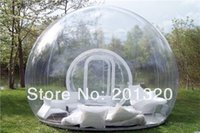 Wholesale bubble tent clear inflatable lawn tent inflatable clear tent