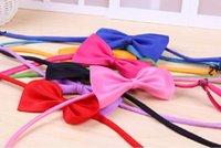 Wholesale 200pcs Hot Sales Dog Neck Tie Dog Bow Tie Cat Tie Supplies Pet Headdress adjustable bow tie
