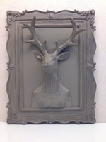 Wholesale Mr TN new deer deer lady modern perspective wall resin factory outlets Don your brand
