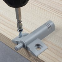 Wholesale 10 Soft Quiet Close Kitchen Cabinet Door Drawer Closer Damper Buffers Screws Practical Home