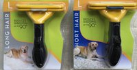 Wholesale Professional Pet Dog deShedding Tool Dog Brush Dog Grooming Comb Dogs Pets Supplies Rake
