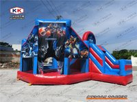Wholesale Fashion new arrival fairies combo inflatable bouncer for cheap sales