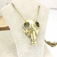 apocalypse movie - New Arrival Movie Jewelry Doctor Who Anti silver Steampunk Apocalypse Gas Mask Pendant Necklace