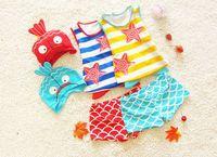 Cheap new kid beach wear swimsuit Best 2015 children swimwear set