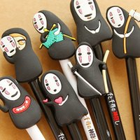 Wholesale Japaness Cartoon Gelpen Cute Creative Gel Pen No Face Man Gelpen