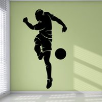 Cheap Cheapest Bedroom Decorative Football Wall Murals Removable Pvc Sport Sticker Home Decor