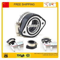 Wholesale Motorcycle Dirt Bike Racing Carburetor Rubber Adapter Inlet Intake Pipe For MIKUNI VM24 OKO KOSO KEIHIN PE28 mm mm order lt no track