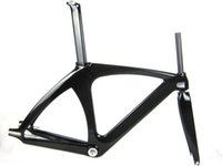 track bike frames - Special Value full carbon track bike frame quot headset fixed gear biycle frame light weight BB68 bike parts