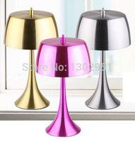 aluminium table lamps - High quality New style designer bedroom bedside light Originality Modern brief art Aluminium Table lamp MT205