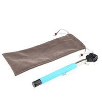 Wholesale Protable Pouch Flannel Cloth Sleeve Selfie Stick Bag for Selfie Stick Monopod Drop Shipping