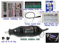 Wholesale Hot V V Electric Dremel Multipro Rotary Tool Mini Drill Variable Speed with Safety Glasses and Accessories
