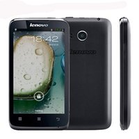 mobile - Original Lenovo A316 Mobile Phone quot Inch MTK6572 Dual Core Android Bluetooth WiFi G WCDMA Dual Core Smart phone