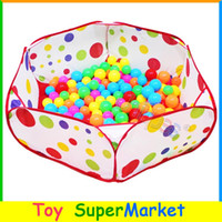 Cheap Free Ship Kids Ocean Balls Pool Baby Play Tent House Playing Game Toy 1M Outdoor Trip Playhouse for Children Store Collect Toys