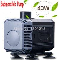 Wholesale 40W Aquarium Tank Submersible Water Pump Resun Qmax L H water pumps Black color Free express