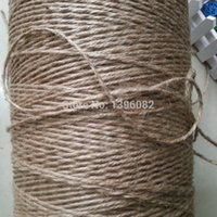 Wholesale mm m Jute Twine Cords Jute Twine String Natural Jute Twine ropes DIY Supplies