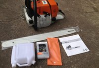 gasoline chain saw - MS gasoline CHAINSAW WITH INCH BAR AND ST SAW CHAIN MADE IN CHINA GOOD QUALITY