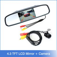 auto rear view camera system - Auto Parking Assistance System in Digital TFT LCD Mirror Car Parking Monitor Degrees Mini Car Rear view Camera