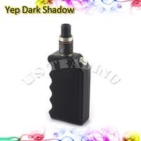 shadow boxes - Original Yep Dark Shadow Mod Electronic Cigarette ABS Mod Box for Dual Battery Big Vapor Mod Suit for Atlantis Subtank Mini Nano Lemo