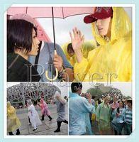Wholesale Hot sale Disposable PE Raincoats Poncho Rainwear Travel Rain Coat Rain Wear gifts mixed colors