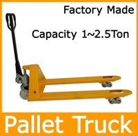 Wholesale 2T Capacity Hand Pallet Truck with Nylon Wheels