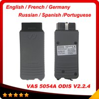 Wholesale Skoda Diagnostic Vas - 2016 Great Deal VAS 5054A 5054 diagnostic tool ODIS V3.0.3 for VW seat Audi Skoda with English Germany French Russian Spanish DHL free