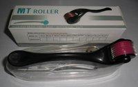 Wholesale Derma roller MT540 stainless steel micro needles Medical derma roller Beauty Equipment Skin dermaroller roller