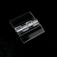 Wholesale Acrylic Hinge Transparent Hinge Plexiglass Hinge x34mm