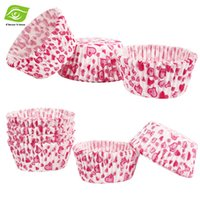 Wholesale 1000pcs Pack Muffin Cupcake Paper Cups Round Cake Mold Cupcake Liners Paper Cases dandys
