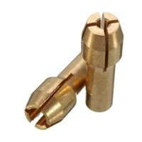 Wholesale High quality Pieces Brass Collet Mini Drill Chuck Including mm order lt no track