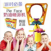 Wholesale Pie Face Game toy Hasbro Gaming Children Novelty interest paternity toys filial family toys Rocket Catapult Game Consoles with cheap price