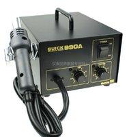 antistatic air gun - QUICK crack A antistatic Power W SMD rework station with hot air gun Controllable air volume