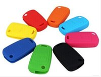 Wholesale Silicone car key cover remote cover for Chevrolet Cruze car key cover case shell protection