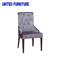 Wholesale fast shipping latest hot sell wooden grain legs dining room chair with backrest and armrest