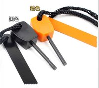 Wholesale OP Promotion Diameter mm Magnesium Flint Fire Starter Kit Survival Outdoor For