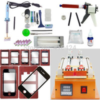 machine - Full Set LCD Display Screen Separator Machine Kit Touch Screen Repair Machine Glass for iPhone Samsung HTC Cell Phone Lens