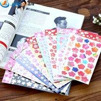 Wholesale Post It Stationery Romantic Cherry Paper Scrapbook D Scrapbooking Stickers Pegatinas Scrapbooking