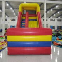 amusement play equipment - AOQI exciting product giant inflatable standard slide amusement park equipment colorful inflatable slide made in guangzhou